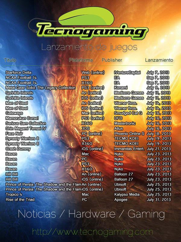 upcoming-games-july-2013