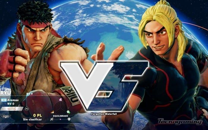 Ryu y Ken, amigos inseparables.