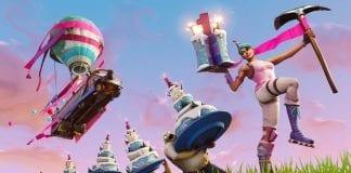 cumpleaños de Fortnite