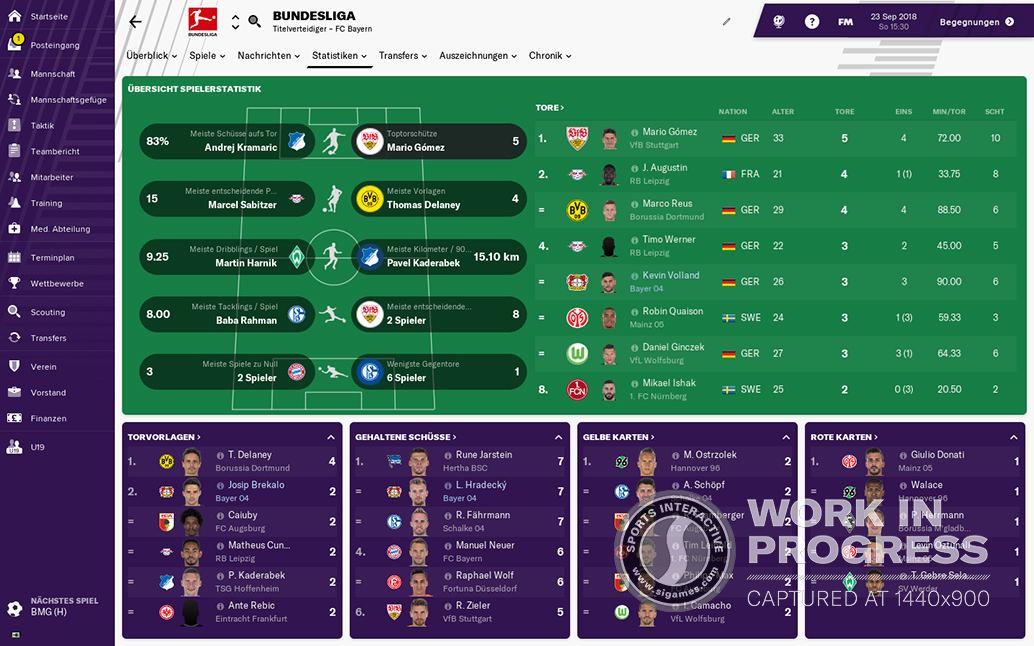 FM19 Bundesliga